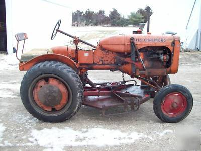 Allis Chalmers All Crop moreover 191301522525 additionally 191178438576 likewise Watch further Allis Chalmers B Engine Side Weights 44 Belly Mower. on allis chalmers b tractor