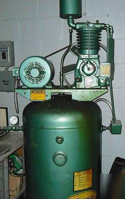 Dresser 5000 Wayne 5hp 3 Phase Air Compressor Excelent