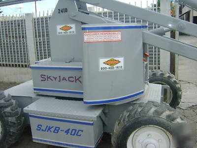 skyjack battery charger codes